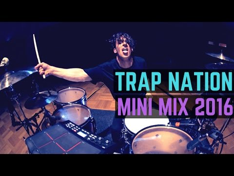 Trap Nation - Mini Mix 2016 | Matt McGuire Drum Cover