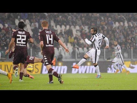 juventus - torino 2-1 30/11/2014 highlights