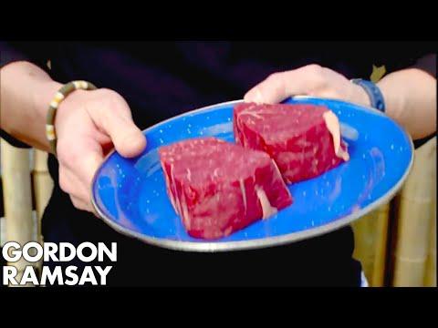 Gordon Cooks Steak For A Vegetarian   Gordon Ramsay