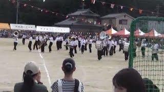 羽黒小運動会(その3)南中吹奏楽部演奏