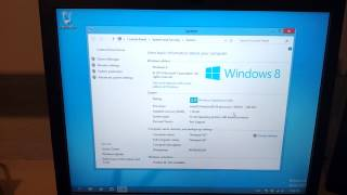 Windows 8 Performance On An 8 Year Old Laptop (Thinkpad X41)