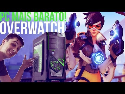 O PC MAIS BARATO DA CHIPART! OVERWATCH!! ‹ ChipArt ›