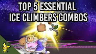 Top 5 Essential Ice Climbers Combos – SSBM Tutorials (x-post r/smashbros)