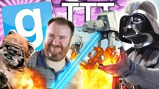 IT'S JUST LIKE THE MOVIE! - Star Wars TTT (Gmod Funny Moments)