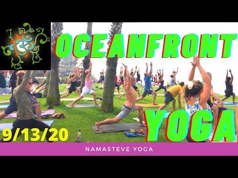 Oceanfront Yoga   Vinyasa Flow   Easy Yoga   Namasteve Yoga