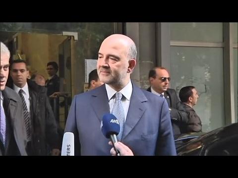 Δήλωση Π. Μοσκοβισί μετά την συνάντησή του με τον Ε. Τσακαλώτο