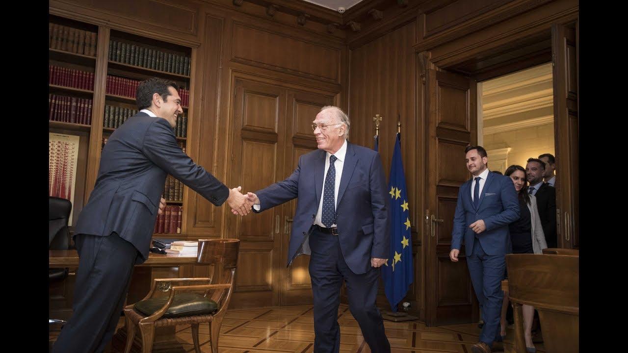 Συνάντηση με τον κ. Βασίλη Λεβέντη για την συμφωνία στο Eurogroup και το Κυπριακό