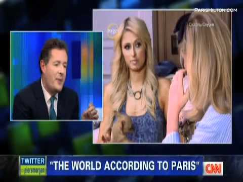 """Paris Hilton """"Piers Morgan"""" Part 1/3"""