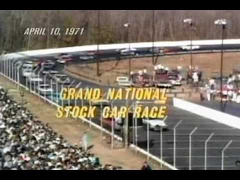 First Live NASCAR Telecast 1971