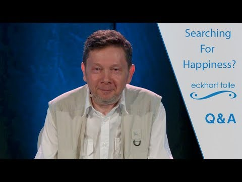 Rare Video on Spirituality and Happiness – Eckhart Tolle Teaching