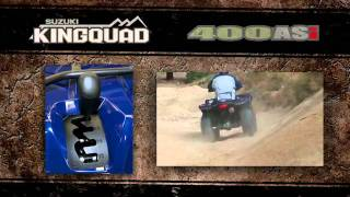8. 2012 Suzuki KingQuad 400 ATV Quad Walk-Around Review