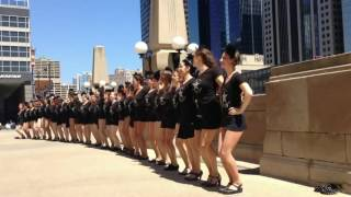 Chicago Chorus Girl Project at Riverside Plaza