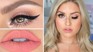 High End VS Drugstore Makeup! ♡ Full Face Dupes Makeup Tutorial by Shaaanxo