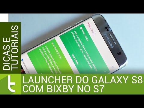 Launcher do Galaxy S8 com Bixby no Galaxy S7  Tutorial do TudoCelular