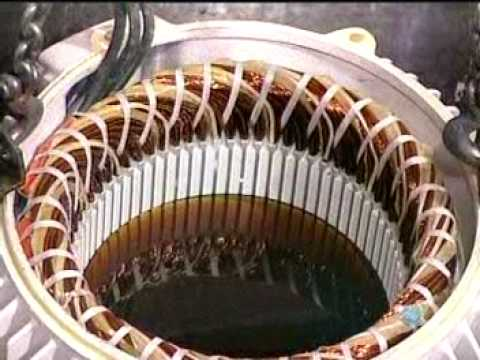 electric - How it's made for electric motor assembly.