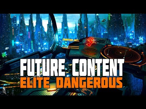 Elite Dangerous - My Wish-list for 2019 and the Future