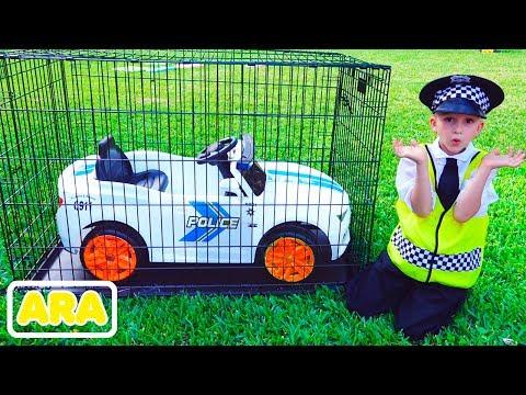 فلاد يلعب شرطيًا وسرقت منه سيارة