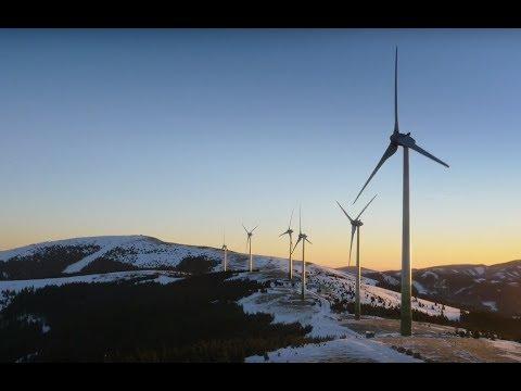 Erneuerbare Energien im Aufwind - Windpark Pretul