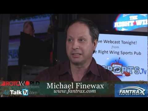 Hockey Expert - Michael Finewax - Fantasy Sports - ROTOWORLD - FANTRAX