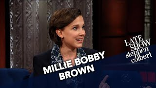 Video Millie Bobby Brown Wants To Co-Host The Emmys With Stephen MP3, 3GP, MP4, WEBM, AVI, FLV Juli 2018