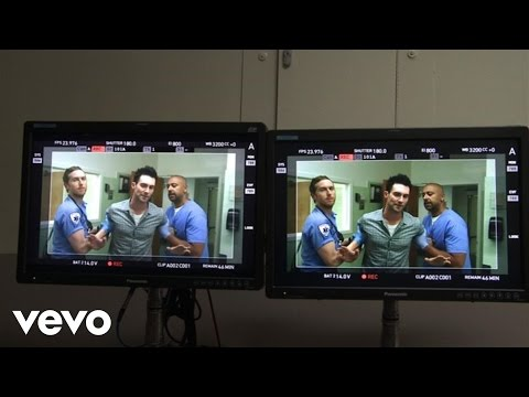 Maroon 5 - Maps (Behind The Scenes)