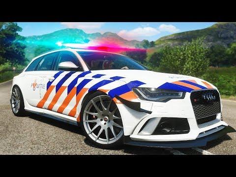 AUDI RS6 VAN DE POLITIE GEKOCHT! - Forza Horizon 4 (Nederlands)