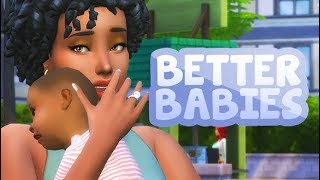 TOP MODS FOR BETTER PREGNANCY AND BABIES 👶🍼   THE SIMS 4 2019