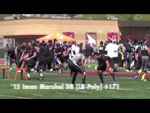 NikeFootball - http://CollegeLevelAthletes.com - Watch this video featuring some of the top plays from the 2013 Nike Football Training Camp in Los Angeles. Redondo Union Hi...