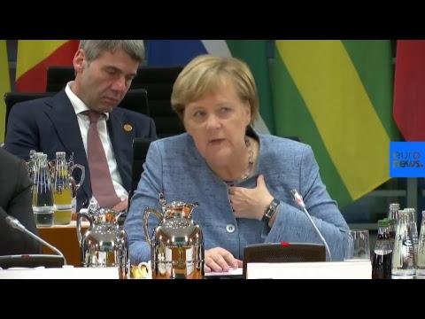 Bundeskanzlerin Merkel trifft afrikanische Regierungs ...