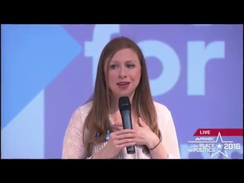 Chelsea Clinton: Now that Scalia's Gone We Can Enact Gun Control