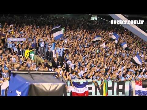 GRÊMIO x Palmeiras - Copa do Brasil 2012 - Queremos a copa - Geral do Grêmio - Grêmio - Brasil - América del Sur