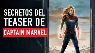 Secretos del teaser de Captain Marvel