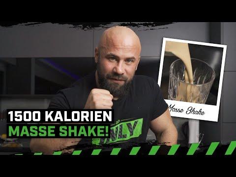 1500 Kalorien!   Sharo macht Masse Shake sein Vater   Fress dich Fit   Zec+ Nutrition