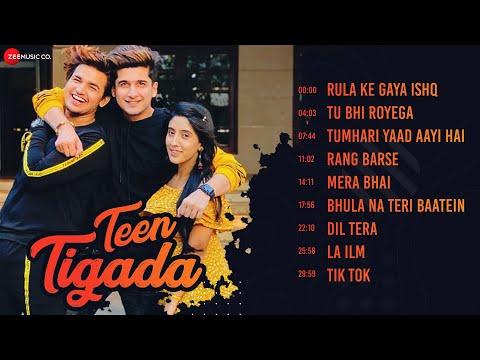Teen Tigada - Full Album   Bhavin Bhanushali, Sameeksha Sud & Vishal Pandey