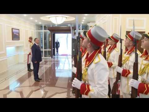 Президент Республики Молдова вручил награды группе спасатей и пожарных