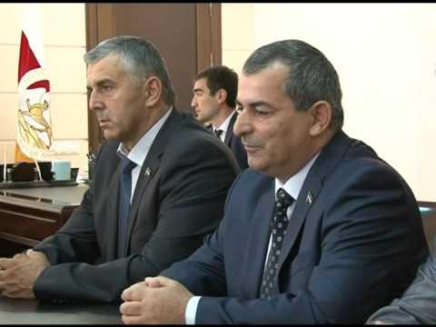 Встречи с гостями, прибывшими в Южную Осетию на празднование Дня Республики