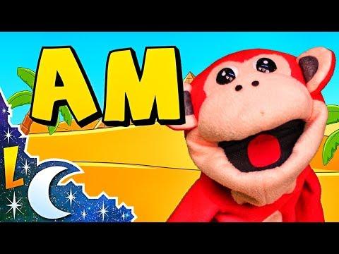 Sílabas am em im om um - El Mono Sílabo - Videos Infantiles - Educación para Niños #