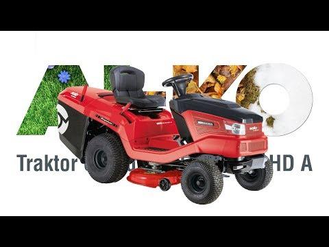 Садовый трактор SOLO by AL-KO T 15-95.6 HD-A с травосборником - видео №1