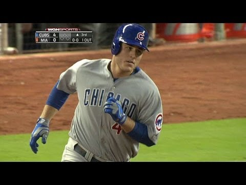 Video: CHC@MIA: Rizzo goes deep again in the third inning