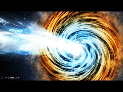 Riesige Schwarze Löcher stellen Forscher vor Rätsel! - Clixoom Science & Fiction