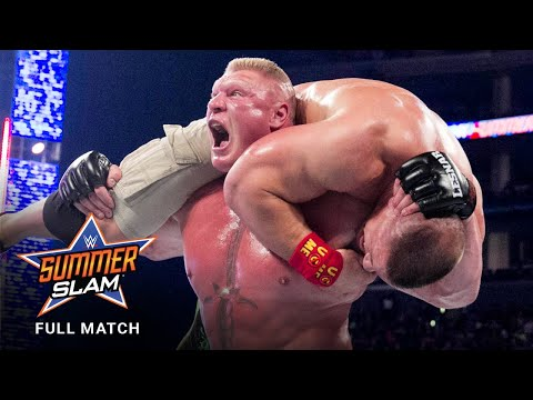 FULL MATCH - John Cena vs. Brock Lesnar - WWE Title Match: SummerSlam 2014