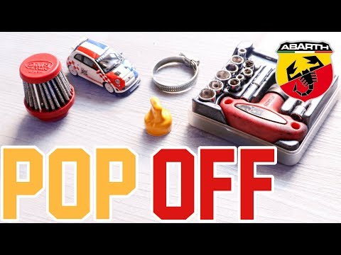 Come Montare un Filtro POP OFF su 500 Abarth | How to install POP OFF Filter