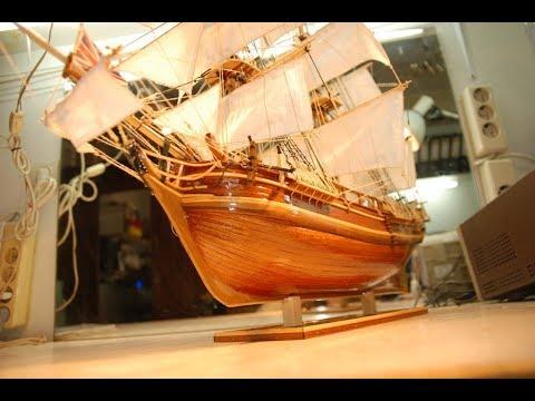 Pienen laivan rakentelua – Upea lopputulos