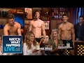Shirtless Male Models Get Their Butts Frosted (Summer Moment #1) | WWHL