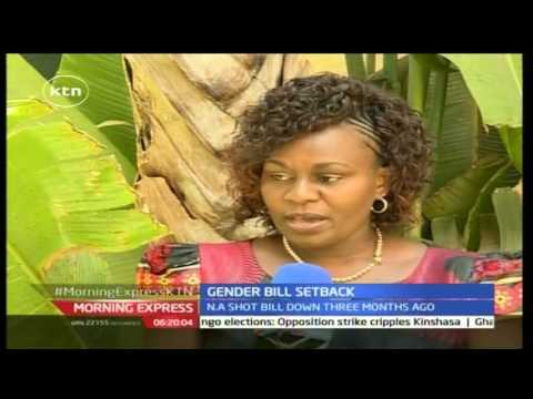 GENDER BILL FLOPS AGAIN: Why Kenyan MPs shot down gender bill
