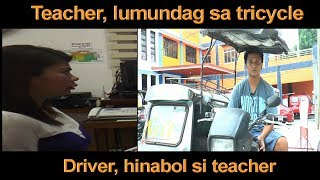 DRIVER NAKALABOSO DAHIL KAY TEACHER, PERO NAKATAKAS AT TUMAKBO KAY RAFFY TULFO. PANOORIN ANG KWENTO!