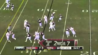 Evan Rodriguez vs Miami (Ohio) 2011
