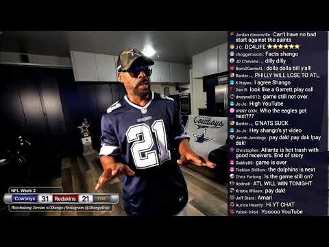 Cowboy beat the Redskins in Washington to go 2-0 within the division