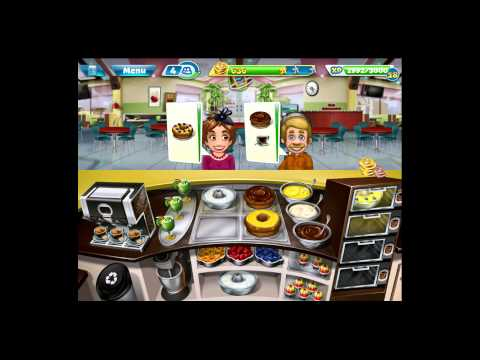 Cooking Fever [iPad Gameplay] Bakery Level 26