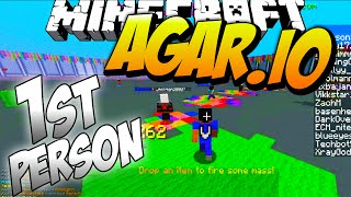 FIRST PERSON AGARIO IN MINECRAFT #1 with Vikkstar (Minecraft Agar.io)
